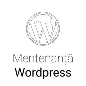 Mentenanta Wordpress