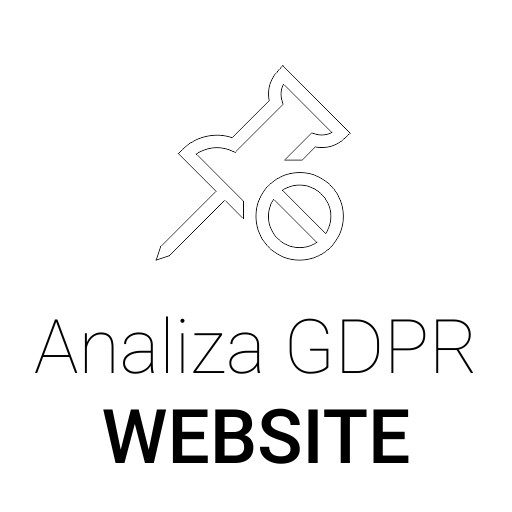 Analiza GDPR Website